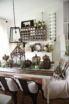 Neutral rustic fall