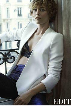 Vanessa Paradis short hair