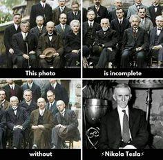Without Nikola Tesla it's Incomplete