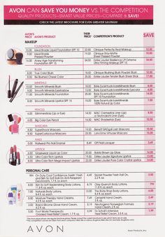 AVON - Beauty and More: Would you like to save $$$ on #Makeup?