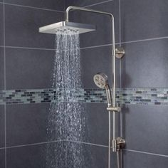 Speakman Rainstream 3 Spray Handshower And Showerhead Combo Kit In Brushed  Nickel SWS