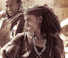 Africa |  Afar woman photographed in Bati, Ethiopia | © Georges Courreges