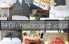 Kaila's Place| 34 DIY headboard ideas