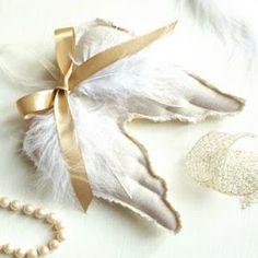 DIY Angel Wings Ornaments