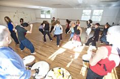 Dance in the new moon, fall equinox, and Jewish New Year with LIVE DRUMS, this Wednesday and ever Wednesday. MLK Gym, 610 Coloma St, Sausalito, California. 7-9pm. www.syzygydanceproject.org. Photo by Amir Magal.