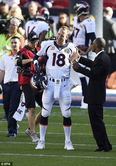 Peyton Manning's Super Bowl 2016 dream comes true in Broncos victory over Panthers | Daily Mail Online