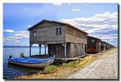 καλυβες χαλαστρας Thessaloniki, Cabin, House Styles, Home Decor, Decoration Home, Room Decor, Cabins, Cottage, Interior Design