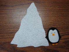 Penguin Went Over the Iceberg