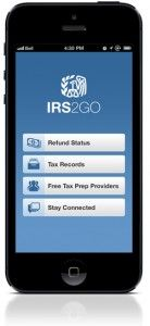 This new version of IRS2Go has a brand new look and feel with new added features: check the status of your federal income tax refund, request your tax return or account transcript, find an IRS Volunteer Income Tax Assistance site right near your home and interact with the IRS.