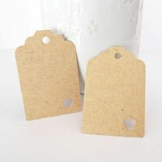 Kraft tags. 25 Brown Kraft Paper tags. Gift Tags Size 45mmx30mm on Etsy, $2.68