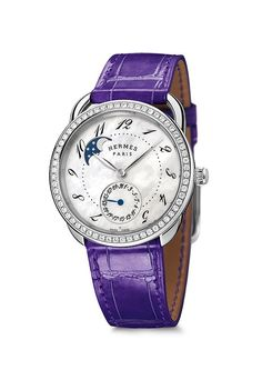 Time For Her: 5 New Ladies' Watches for Your Holiday Shopping List | WatchTime - USA's No.1 Watch Magazine (Hermès Arceau Petite Lune)