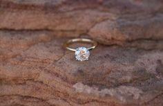 Simple engagement rings 24