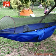 hammock bug   outdoor hammock travel  lightweight parachute fabric hanging hammock for hiking diy hammock bug   cheap and easy  perfect solution   i have to      rh   pinterest co uk