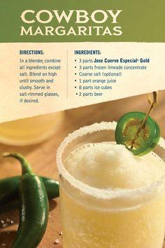 Cowboy Margaritas