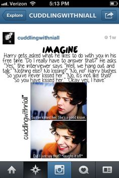 Imagine Harry~ i love this guy so much