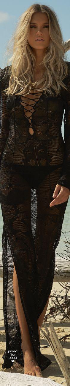 MELISSA ODABASH GISELLE KNIT LONG SLEEVE LONG DRESS