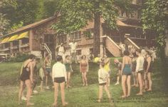Campers at Play, Ted Hilton's, 1950s