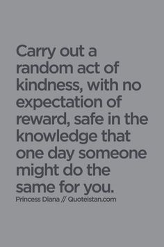 examples of good samaritan conduct or random acts of kindness