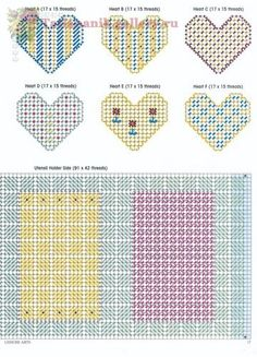 Homey Hearts Kitchen Set 5/5 Plastic Canvas Christmas, Plastic Canvas Crafts, Plastic Canvas Patterns, Kitchen Canvas, Valentines Design, Doll Furniture, Needlepoint, Sewing Projects, Kitchen Sets