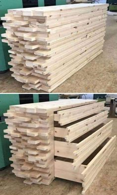 Diy Furniture Projects, Woodworking Projects Diy, Woodworking Furniture, Diy Wood Projects, Pallet Furniture, Woodworking Plans, Wood Crafts, Awesome Woodworking Ideas, Project Projects