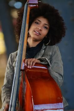 Esperanza Spalding...look her up on youtube and have a listen.....then go buy her albums.