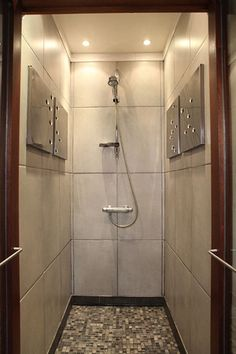 Fully Enclosed Shower pindabbl on pivot door   pinterest   shower enclosure