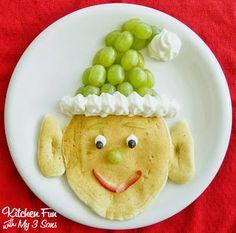 Santa's helper pancakes (gluten free)