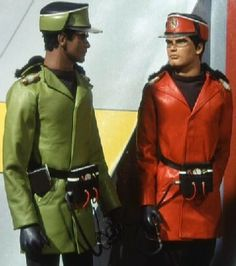 Lieutenant Green and Captain Scarlet on an arctic mission.