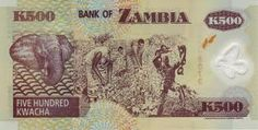 Kwachas: the currency of Zambia :)