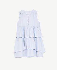 Image 8 of SLEEVELESS FRILLY DRESS from Zara