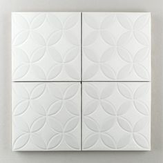 The Moroccan Handpainted Collection: Jardin Fretwork in the White Motif. Classic and simple this pattern has never met a space it didn't love. Available in a 8x8 size. $35/piece.