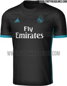The Real Madrid 2017-18 away jersey introduces a modern look and is set for a launch in June, made by Adidas.