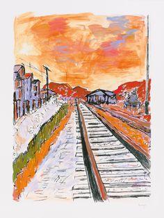 Side Tracks - 17 October 1964 - Detroit, Michigan Bob Dylan 2013 Hand Embellished Unique Giclee 122 x 91.5 cm