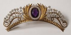 Diadem:   Dating 1805 - 1832     Artist / Maker Comp. and Performed by: Nils Hedenskog, Swedish, born in 1776, dead in 1839
