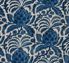 American Indigo Resist (detail): Mid- to Late-1700s
