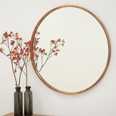 Arthur Copper Mirror from The Shelley Panton Store