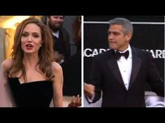 Angelina Jolie Loses Brad Pitt During Oscars Date Night! - YouTube