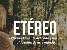 Las 25 Palabras más Bonitas del Idioma Español - Taringa!