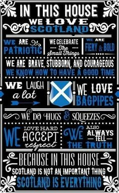 We love Scotland