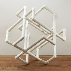 PVC Art, I think once the adult cut the different length of pipe, kids can have fun putting it together.