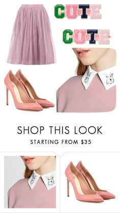 """""""Cute cute"""" by ellisbooth3 ❤ liked on Polyvore featuring Gymboree, Victoria Beckham, Francesco Russo and Boohoo"""