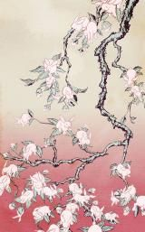 Bunny blossom by Kozyndan takes pride of place in my living room. I love this print.