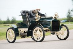 1905 Cadillac Model E Runabout - (Cadillac Automobile Company, Detroit Michigan 1902-Present)
