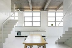 Loft FOR / adn Architectures   http://www.yellowtrace.com.au/adn-architectures-brussels-loft/