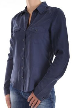 Abercrombie Womens Classic Long Sleeve Button-down Shirt, Navy (Large) Abercrombie & Fitch. $68.00. Save 23% Off!