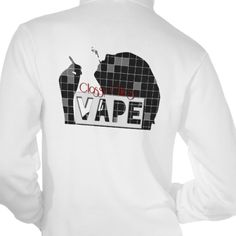Classy Chics Vape Checker Woman Smoke Hoodie