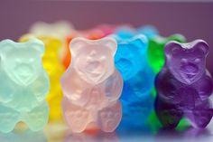 Colorful gummy bears!
