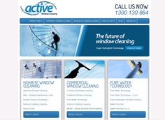 Looking to get your windows cleaned, get in touch with Active Window Cleaners.