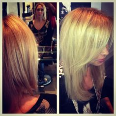 Hot heads extensions at Black Label Salon and Spa 856-267-0333