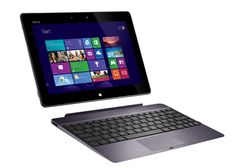ASUS VivoTab RT: Is it a laptop or tablet? Why not both? With this remarkably thin and light convertible, you can have it all without sacrificing performance for portability. This ASUS VivoTab RT is powered by Windows RT.